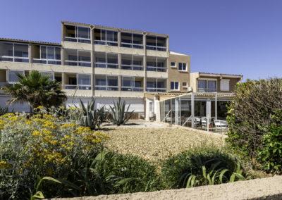 hotel les dunes marseillan plage